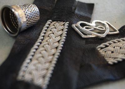 Samiska läderarmband